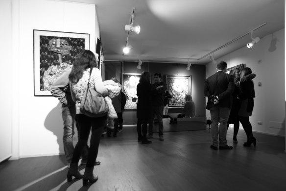 Enrico Baj, Galleria Dellupi, 2015, a cura di Miroslava Hajek